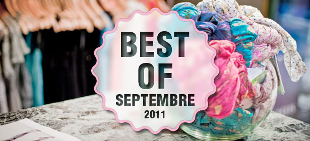 Best of septembre 2011