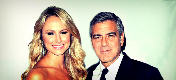 Georges Clooney et Stacy Keibler